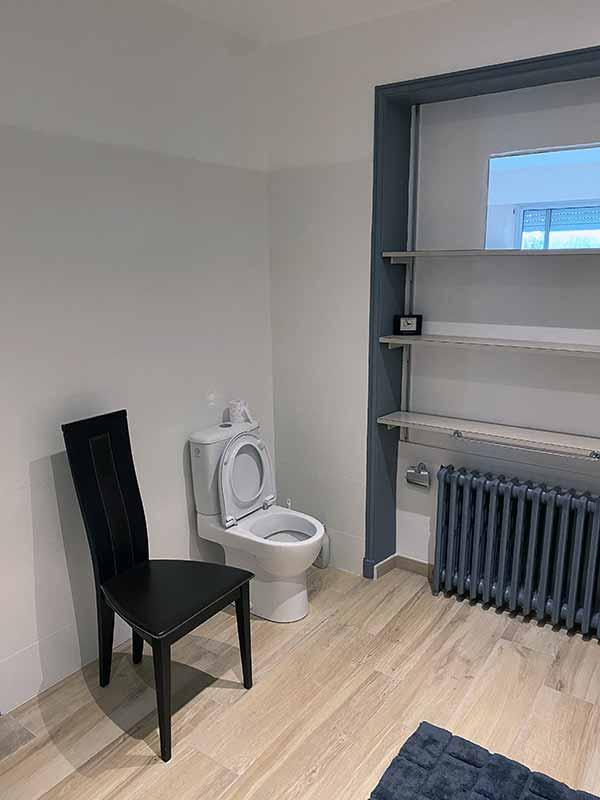 Pose et conception de salles de bains Yanet